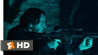 John Wick: Chapter 2 2017 - Catacombs Shootout Scene 4/10 | Movieclips