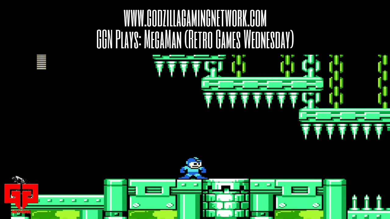 GGN Plays: Mega Man (Retro Games Wednesday Clip) THIS SHOULD BE EASY!