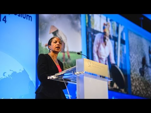 Susan Rice, US National Security Advisor, 2014 Global Food Security Symposium