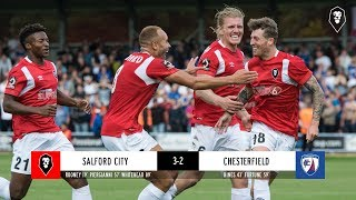 Salford City 3-2 Chesterfield - National League 18/08