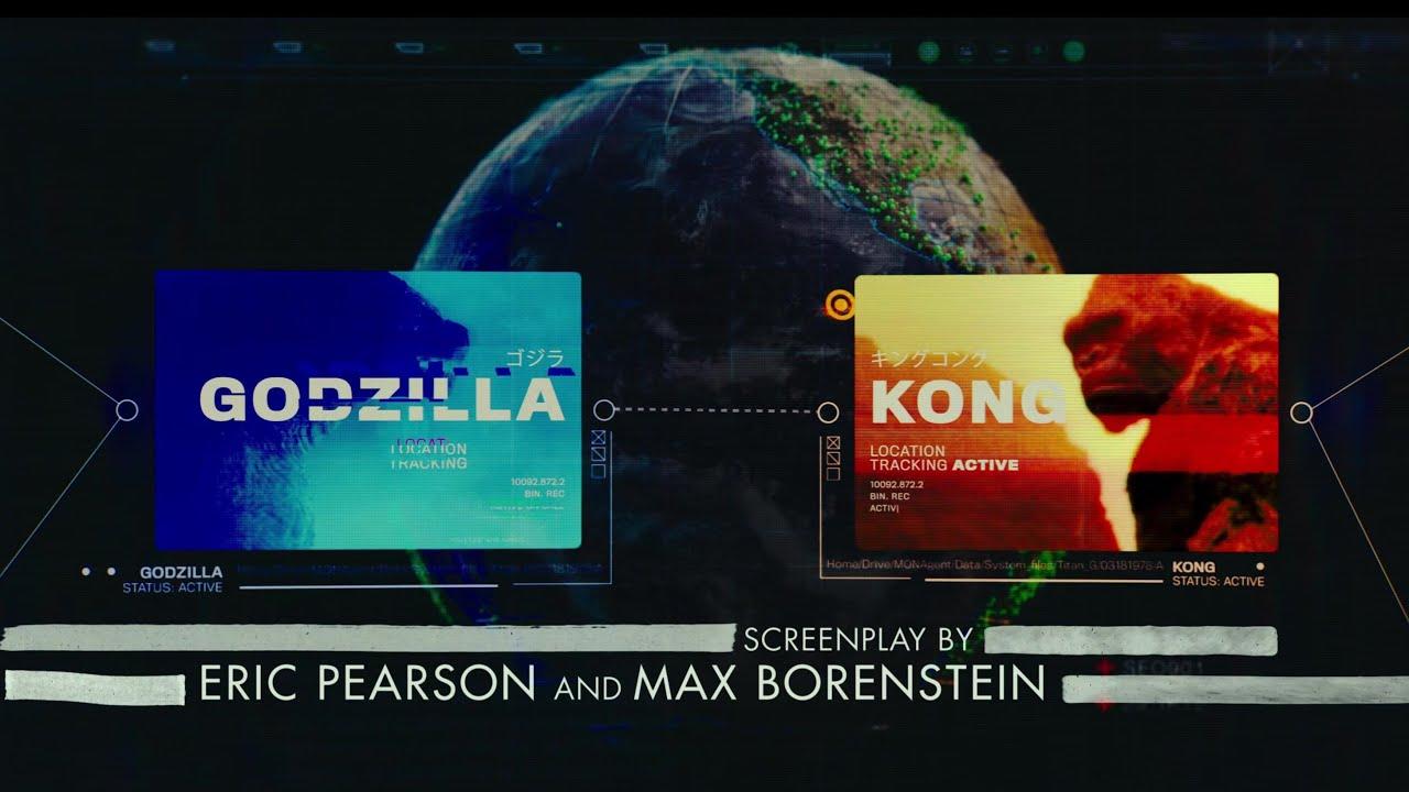 Opening Credits (no background music) - Godzilla vs Kong