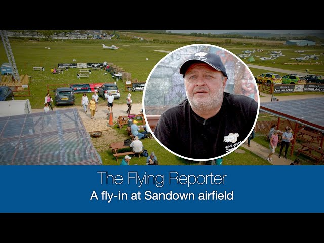 A fly-in at Sandown airfield - The Flying Reporter