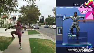 FORTNITE BAILES IN REAL LIFE!!!! (FORTNITE IN REAL LIFE) BREAKDANCE,ELECTRO SHUFFLE,ETC......