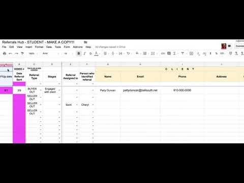 Freeze a header on a google sheet