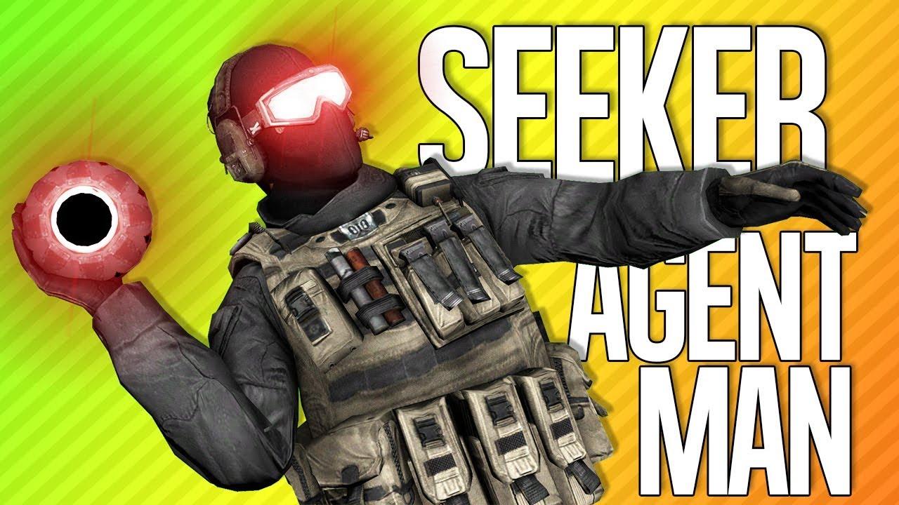 SEEKER AGENT MAN | Die Abteilung 2 + video