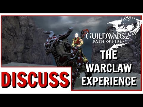 Guild Wars 2: The Warclaw Mount WvW Experience thumbnail