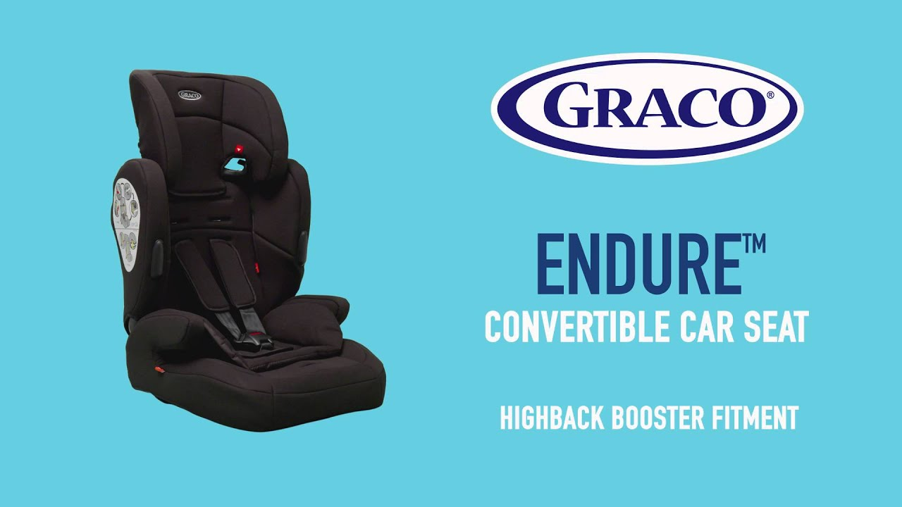 ad5d66ac1d5b Smyths Toys - Graco Endure Group 1- 2 - 3 Car Seat - YouTube