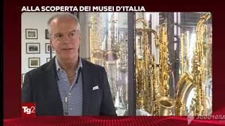 Servizio Rai Tg2 sul Museo del Saxofono