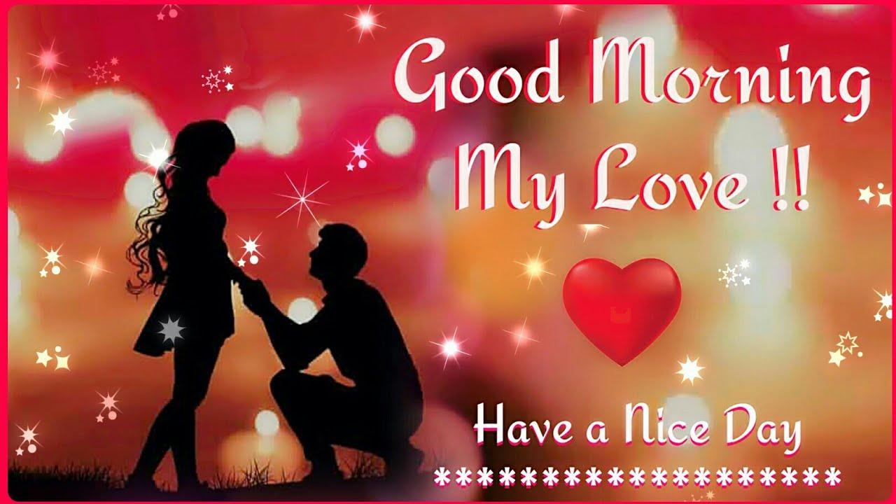 🌸 Good Morning Love Shayari Video 🌸 | Good Morning Wish Video For Love 💖
