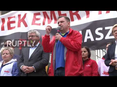 Poland: Solidarity rally against European Commission's threat to Polish govt.