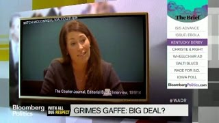 Alison Grimes Won't Say if She Voted for President Obama