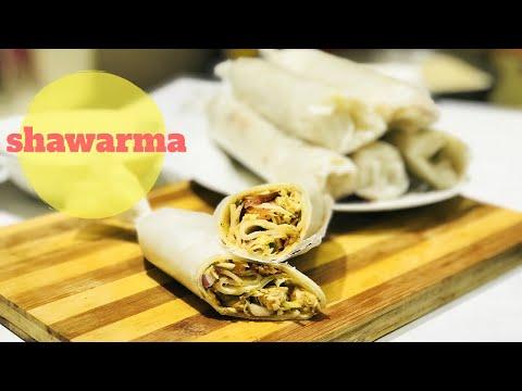 ഇനി അടിപൊളി ചിക്കൻ ഷവർമ വീട്ടിൽ ഉണ്ടാക്കാം|chicken shawarma recipe in malayalam by mrs malabar