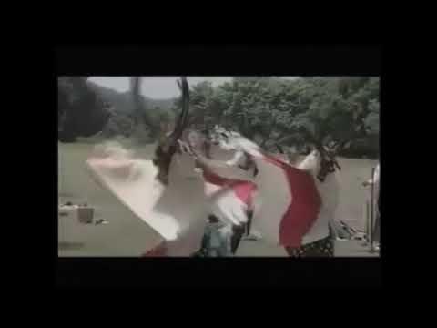【菅窪鹿踊・剣舞】膝立て(ひざたて)