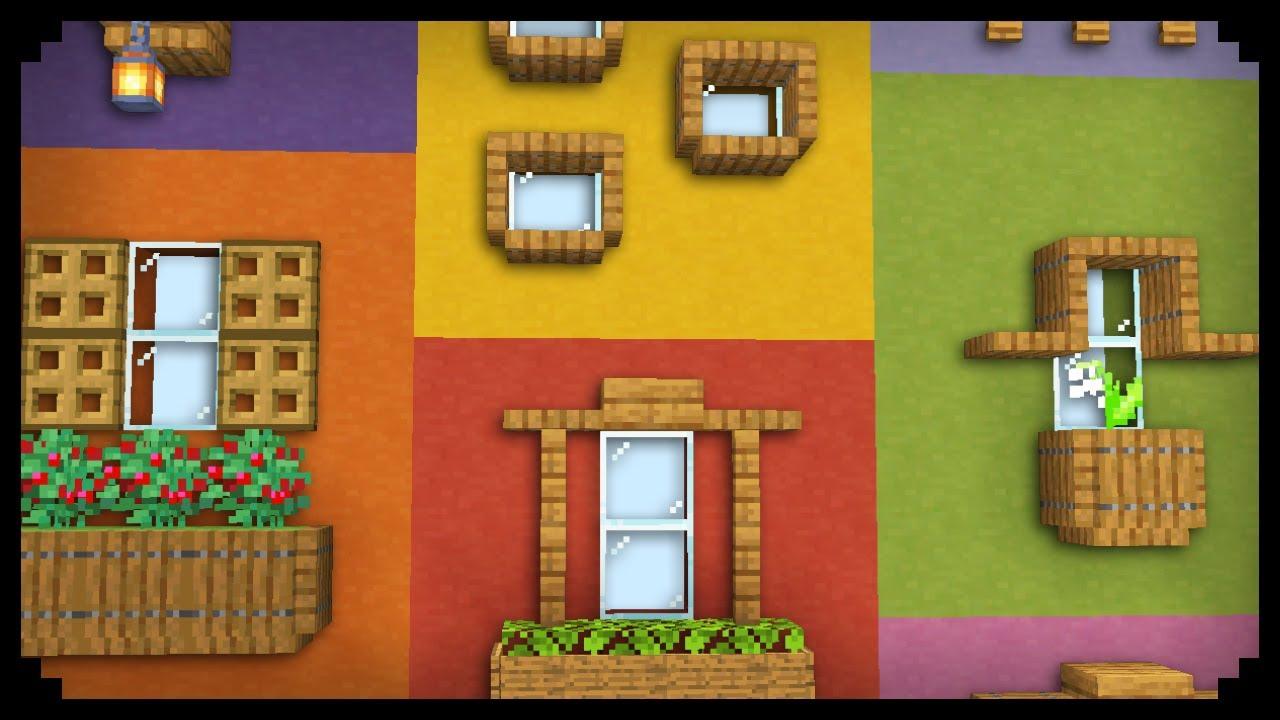 ✔ 9 Window Design Ideas in Minecraft