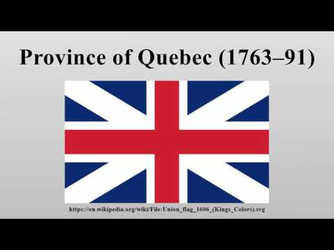 Province of Quebec (1763–91)