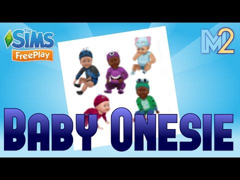 Sims FreePlay - Baby Onesie Event (Tutorial & Walkthrough)
