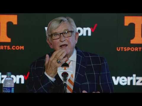 Johnny Majors & Gus Manning Press Conference - 9.21.16