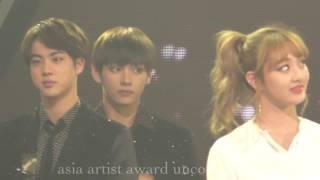 BTS @AAA best artist award 161116