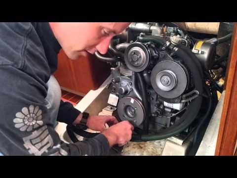 How to do a Yanmar 2GM20F Engine service - YouTube