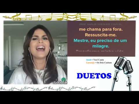 Cante Ressuscita me com Aline Barros