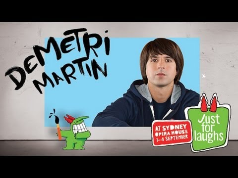 Sydney Opera House: Demetri Martin (Interview) - Just For Laughs 2011