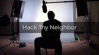 Rapid7 Under The Hoodie - Hack Thy Neighbor