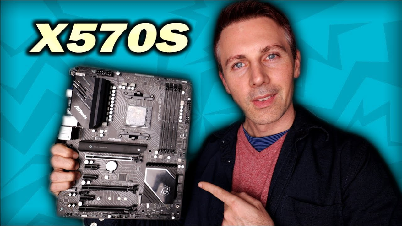 X570 Vs. X570S What's the Difference? (ASRock X570S PG Riptide Review)