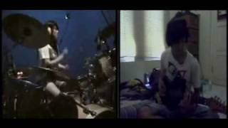 Lady Gaga ft beyonce - Telephone - Drum and Guitar Rock ( febby and a