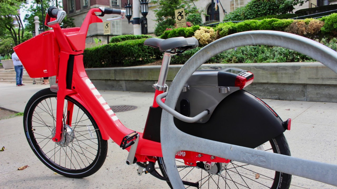 JUMP Bikes brings motorized, pedal-assist bicycles to Staten Island