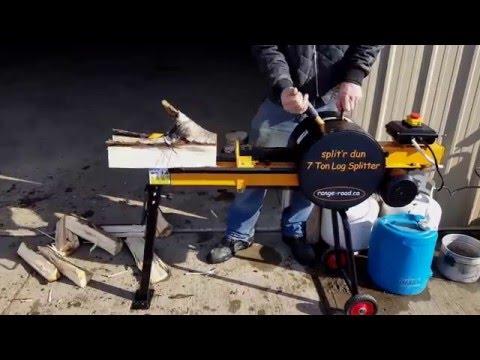 Range Road Split'r dun 7 Ton Kinetic Log Splitter