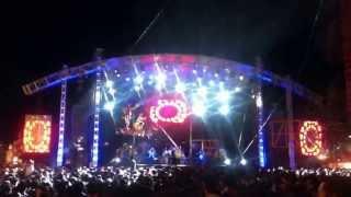 Presentación Junior Klan en la feria de Altepexi Puebla 2013