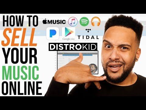 How To Sell Your Music On Spotify, Apple Music, Tidal (DistroKid Tutorial)