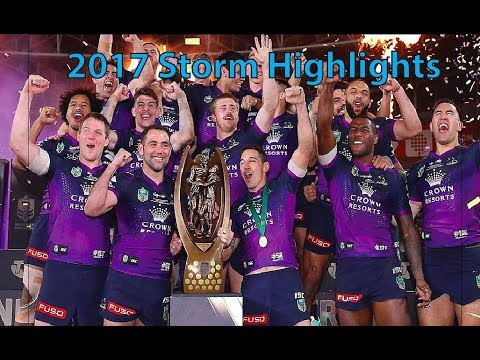 2017 NRL Storm Season Highlights