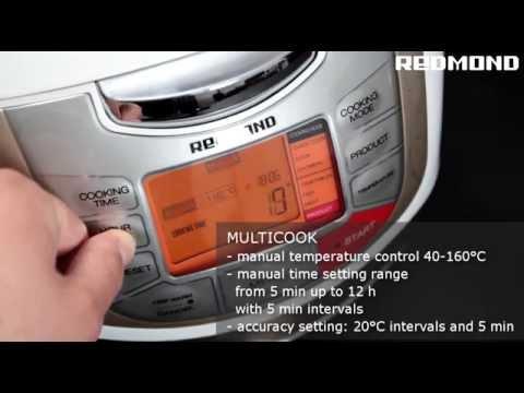 Multicooker REDMOND RMC-M4502 promo