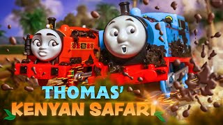Thomas' Kenyan Safari | TCC Big World Big Adventures Compilation #2 | Thomas & Friends