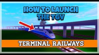 How To Launch The TGV In Seconds! | Roblox Tutorial