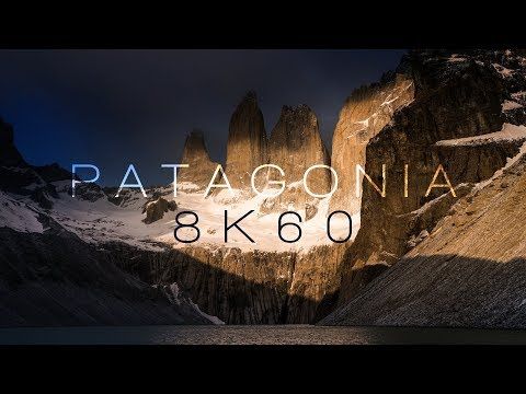 PATAGONIA | TORRES DEL PAINE | 8K60FPS