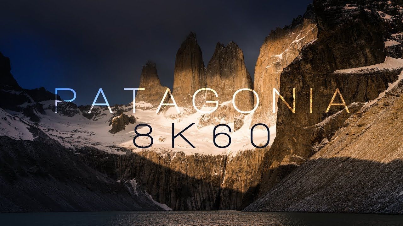 PATAGONIA   TORRES DEL PAINE   8K60