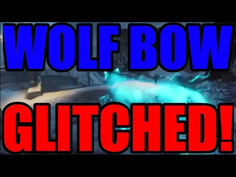Black Ops 3 ZOMBIES Der EisenDrache WOLF BOW GLITCHED! NEW Annoying Wolf Bow Upgrade Step Glitch!