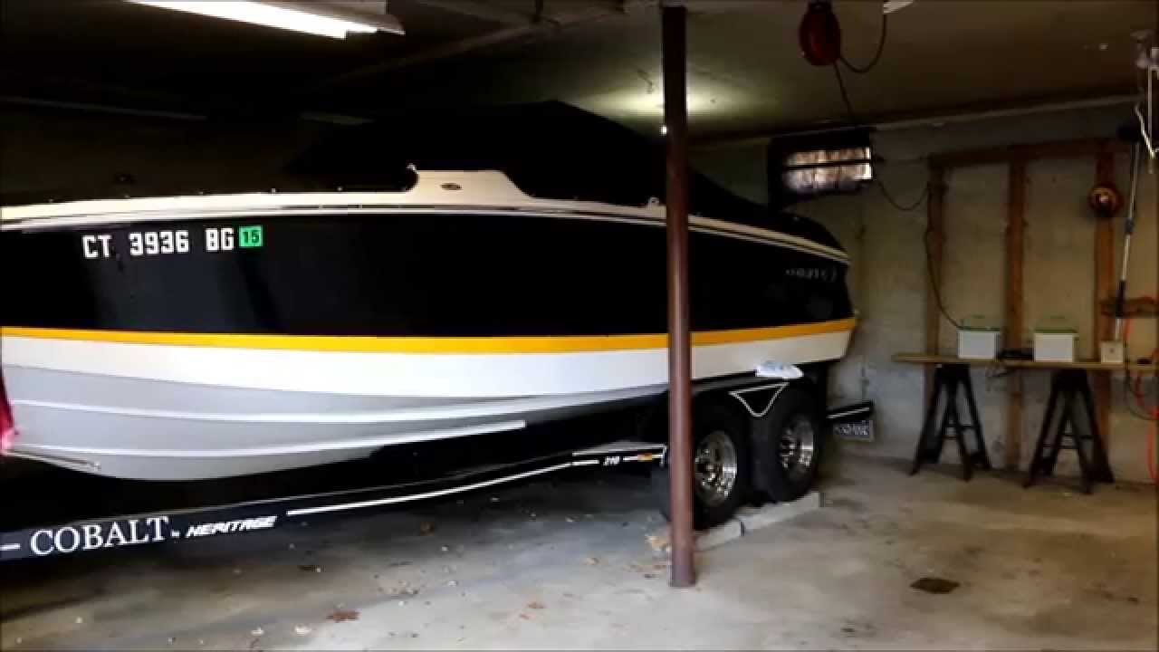Fit The Boat In The Garage Hack Youtube