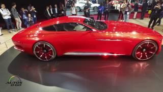 Vision Mercedes-Maybach 6 at the Paris Auto Show
