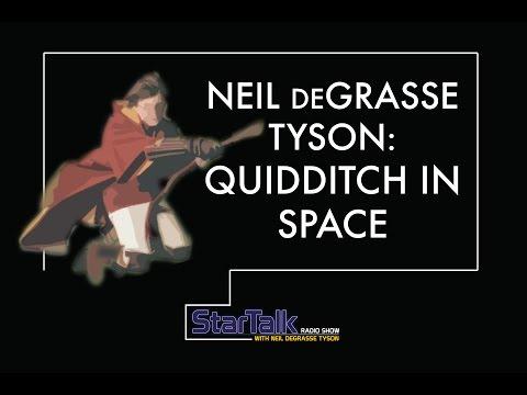 Neil deGrasse Tyson on Quidditch in Space