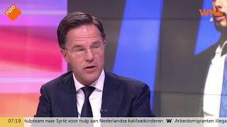 Mark Rutte vindt 'Ich habe es gewusst'-tweet van Thierry Baudet 'gepruts'