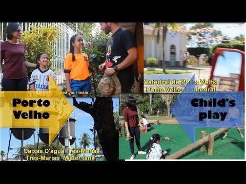 Conhecendo a cidade de Porto Velho, Rondônia, Brasil