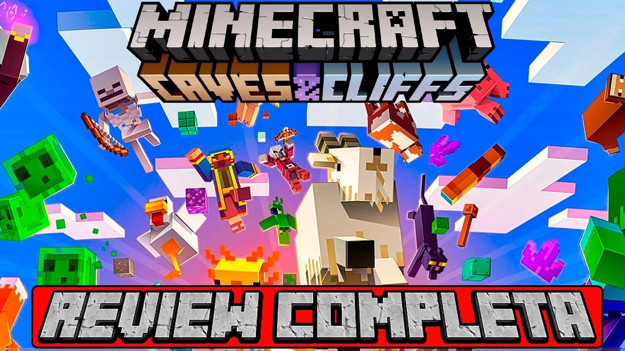 Minecraft 1.17  [ REVIEW COMPLETA EN ESPAÑOL ] Todo 👉 Bloques, ítems, mobs y mas