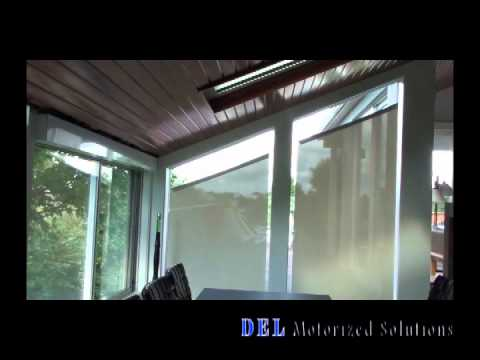 Bottom Up Angled Roller Shade Demo Youtube