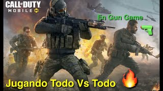 Call Of Duty Mobile 🔥🔥🔥🔫🔫🔫Playing All 🆚 All in Gun Game🔥🔥🔥🔥🔫🔫🔫