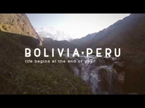 Traveling by Bolivia & Peru (Backpacking GoPro)