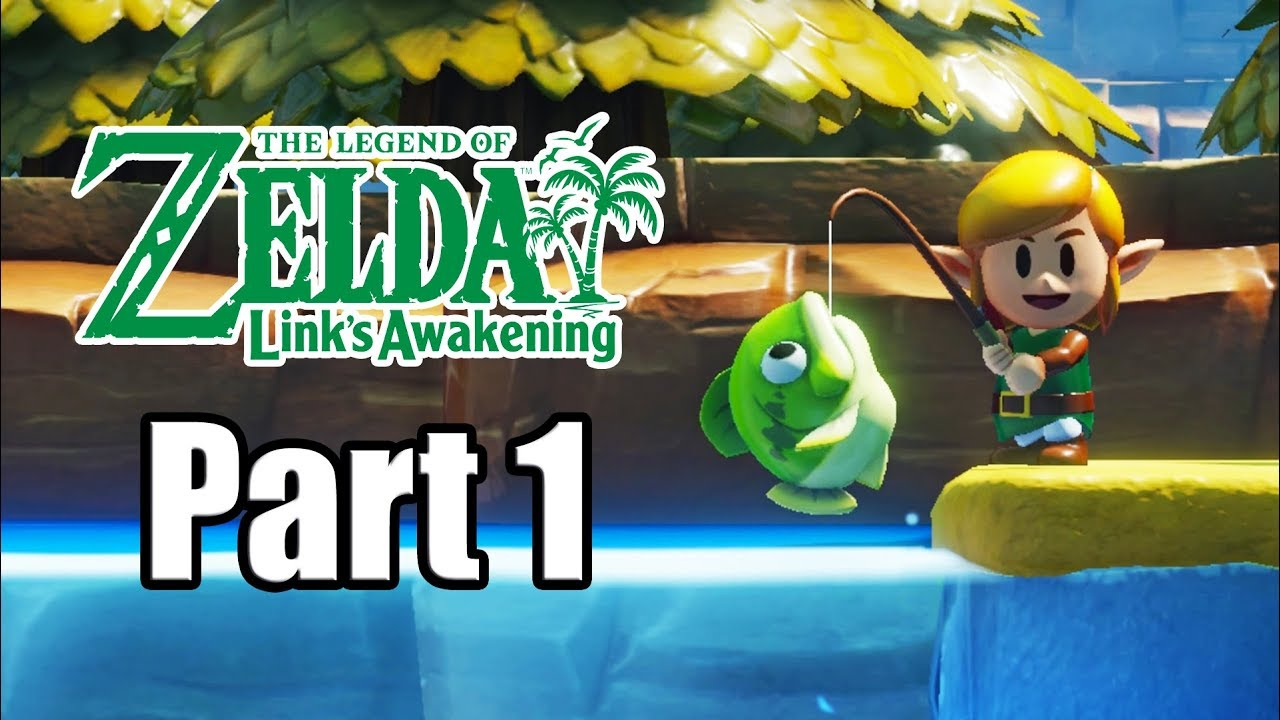The Legend of Zelda: Link's Awakening Remake - Gameplay Walkthrough Part 1 (No Commentary) thumbnail