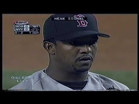 Boston Red Sox at New York Yankees 2000 05 28 Pedro Martinez vs Roger Clemens  PART 1